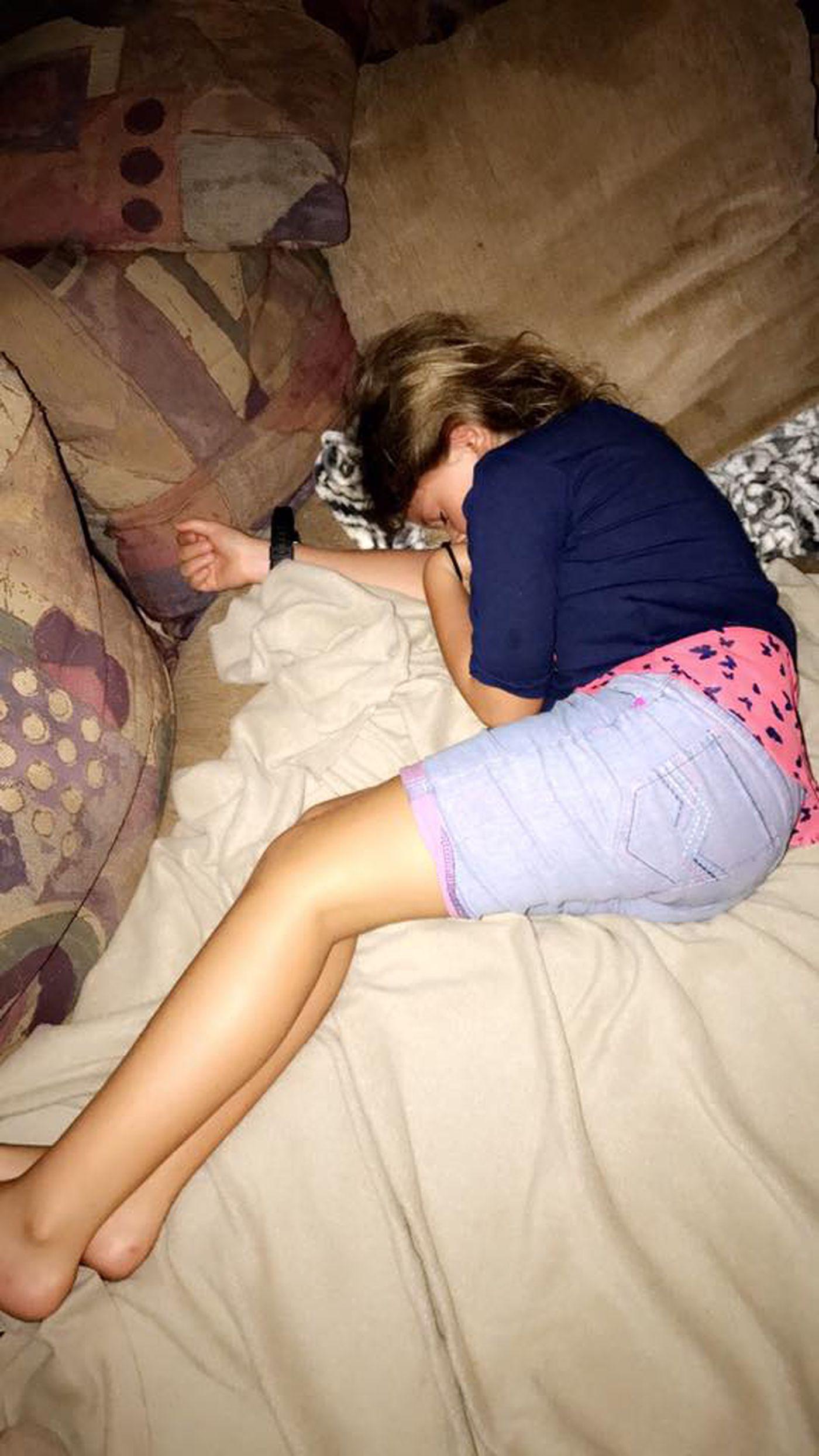 Daughter sleeping porn