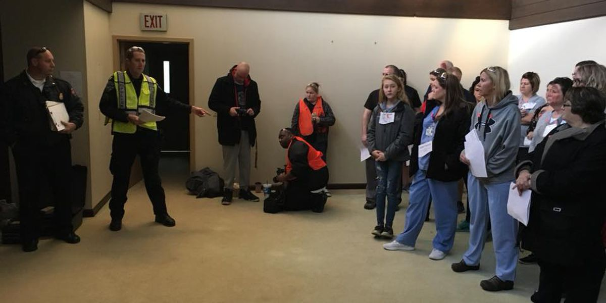EPD holds mock disaster training at Deaconess Midtown