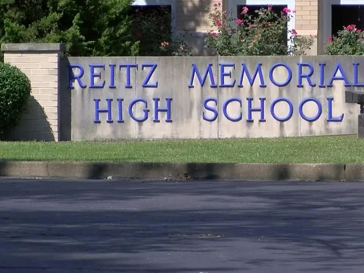 Reitz Memorial High School returns to in-person classes Wed.
