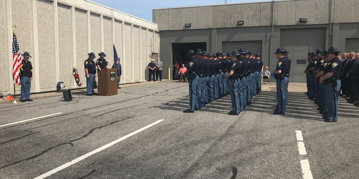 ISP hold memorial service for fallen officers