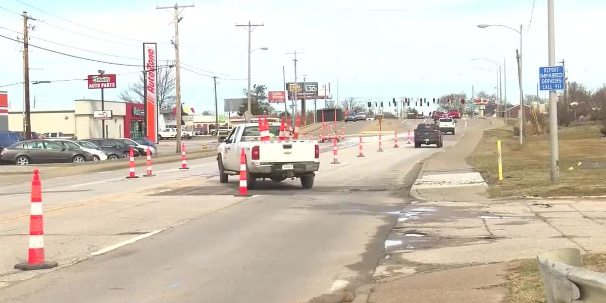 Lane restrictions begin soon on First Ave. in Evansville