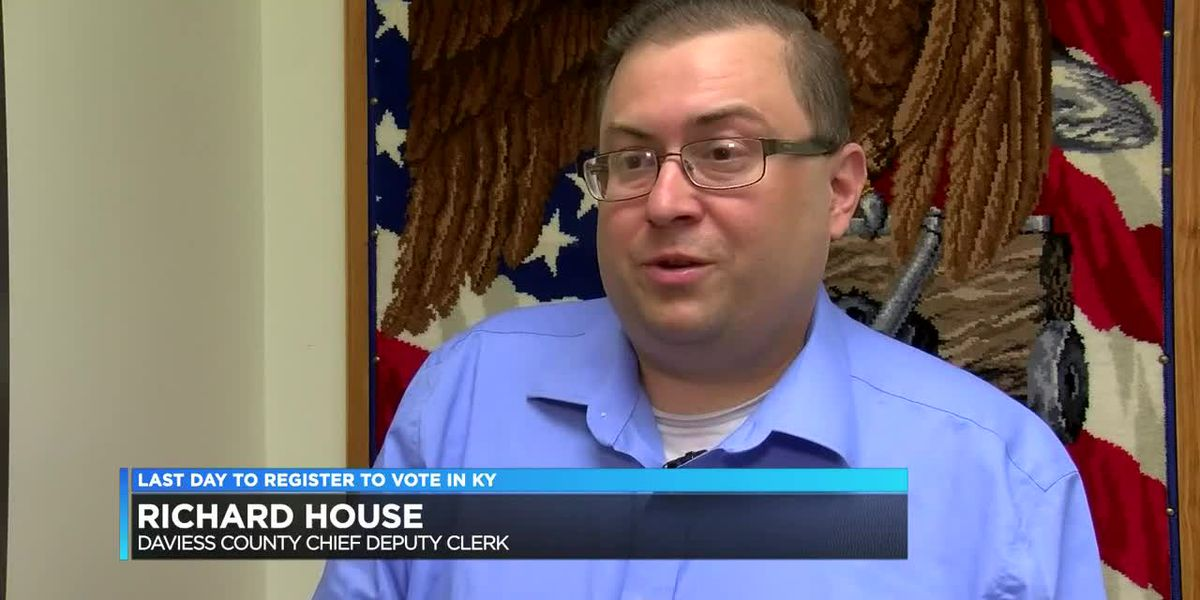 Final day to register to vote in KY
