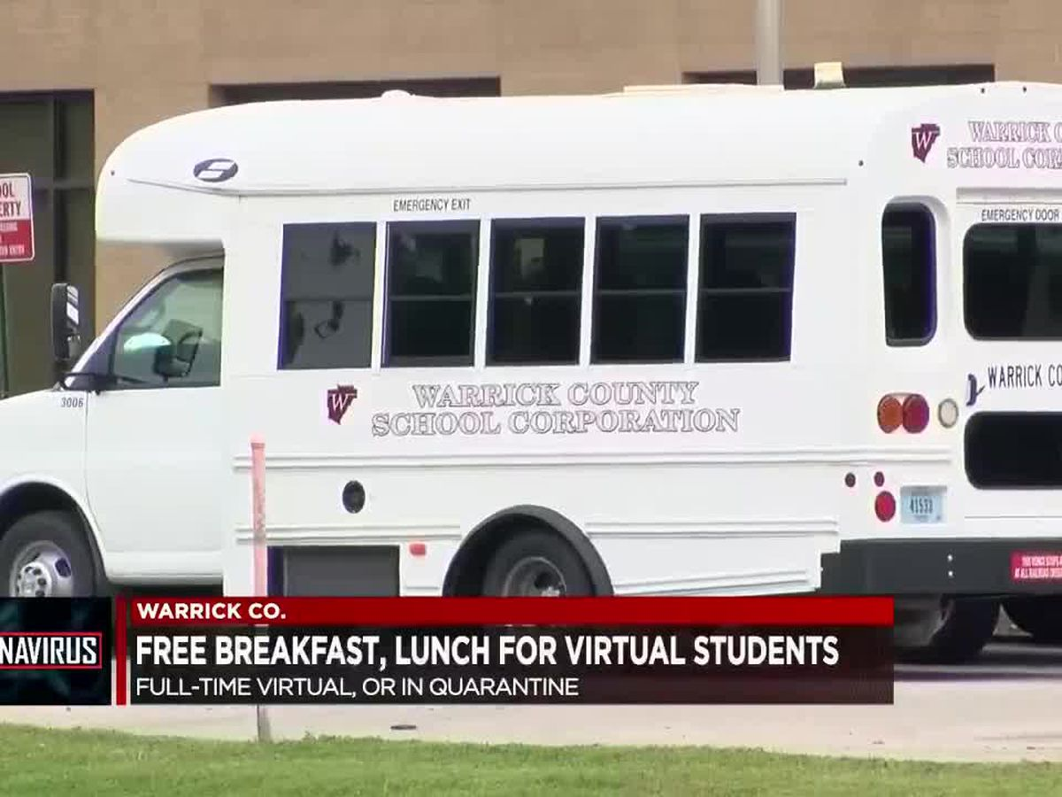 Warrick Co. School Corporation to provide free meals for virtual students
