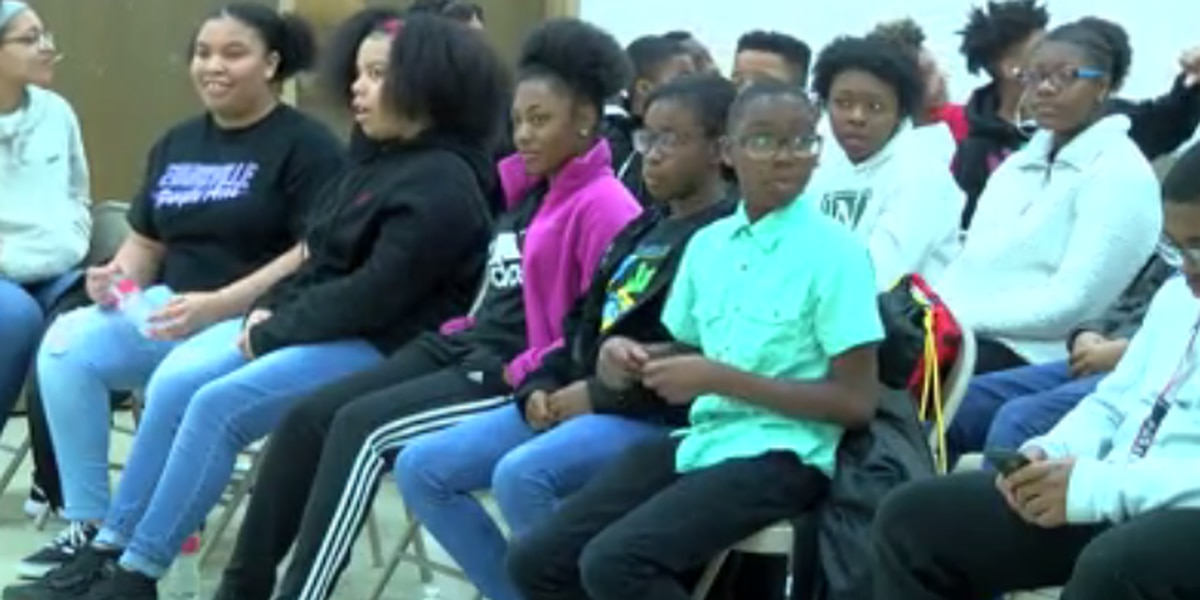 Teens voice opinions during special town hall