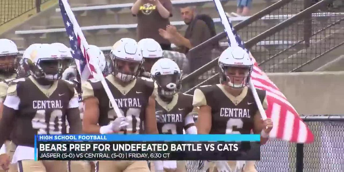 Central preps for battle of unbeatens in Week 6 matchup
