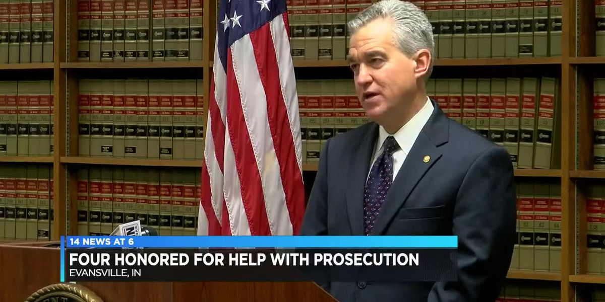 U.S. Attorney honors four individuals for help leading to prosecution