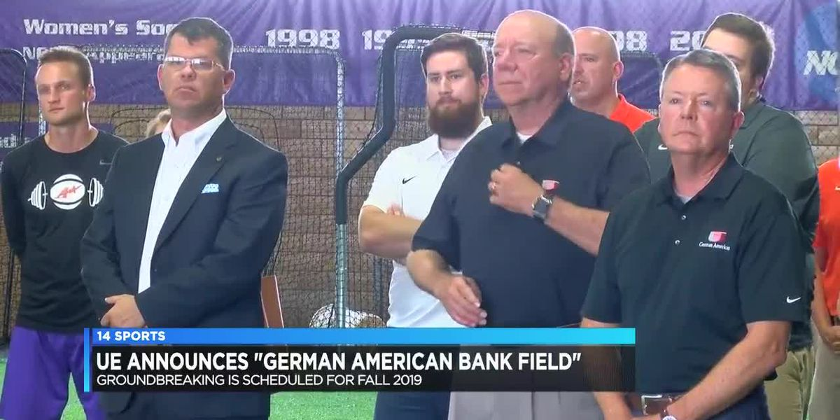 German American Bank announces financial commitment to UE Athletics