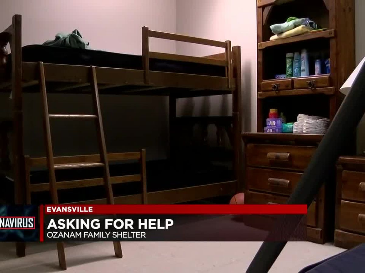 Evansville family shelter seeking donations to accommodate more residents