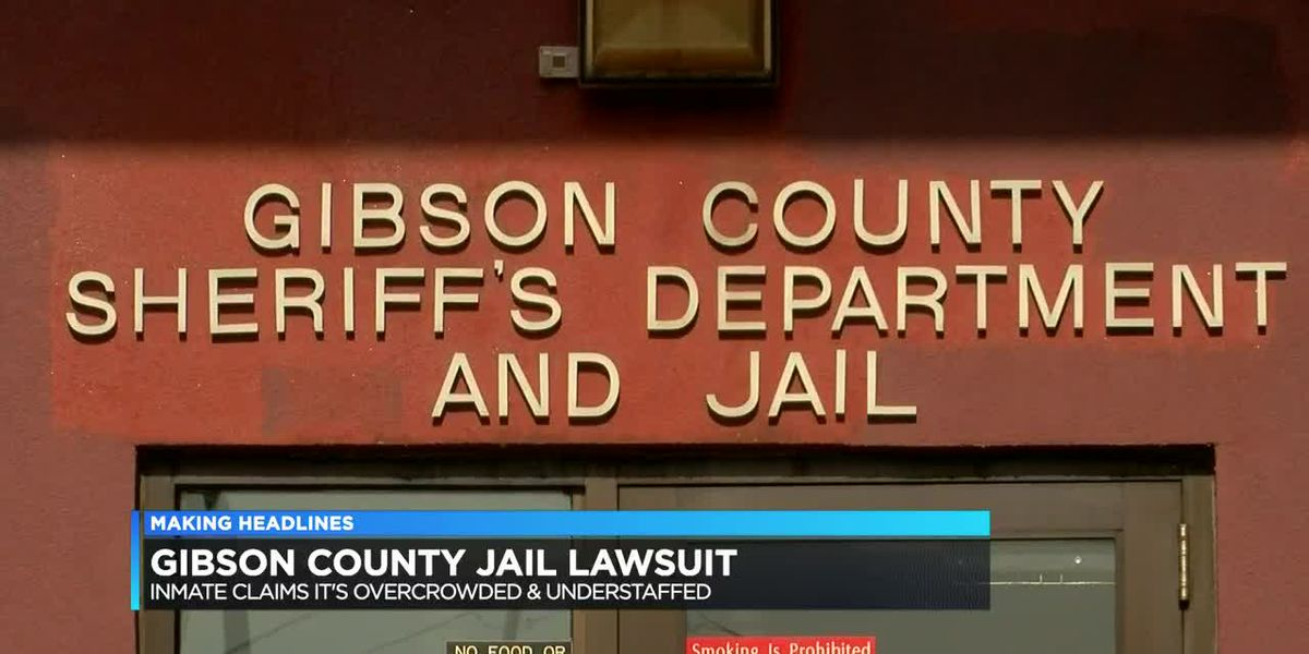 ACLU part of lawsuit against Gibson Co. Jail