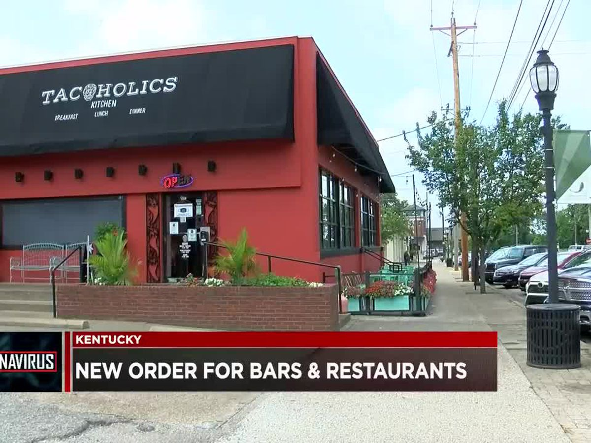 New rules for KY bars, restaurants go in effect Tues. night