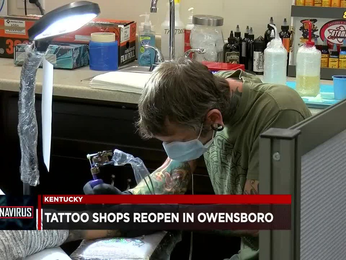 Owensboro tattoo shop ecstatic about reopening