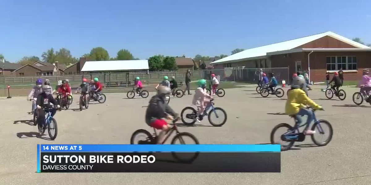 Owensboro elementary students participate in bike safety rodeo