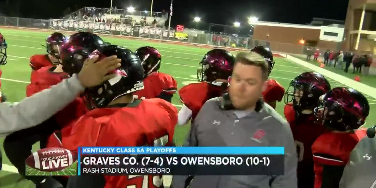 Touchdown Live KY Playoffs: Graves Co. vs Owensboro