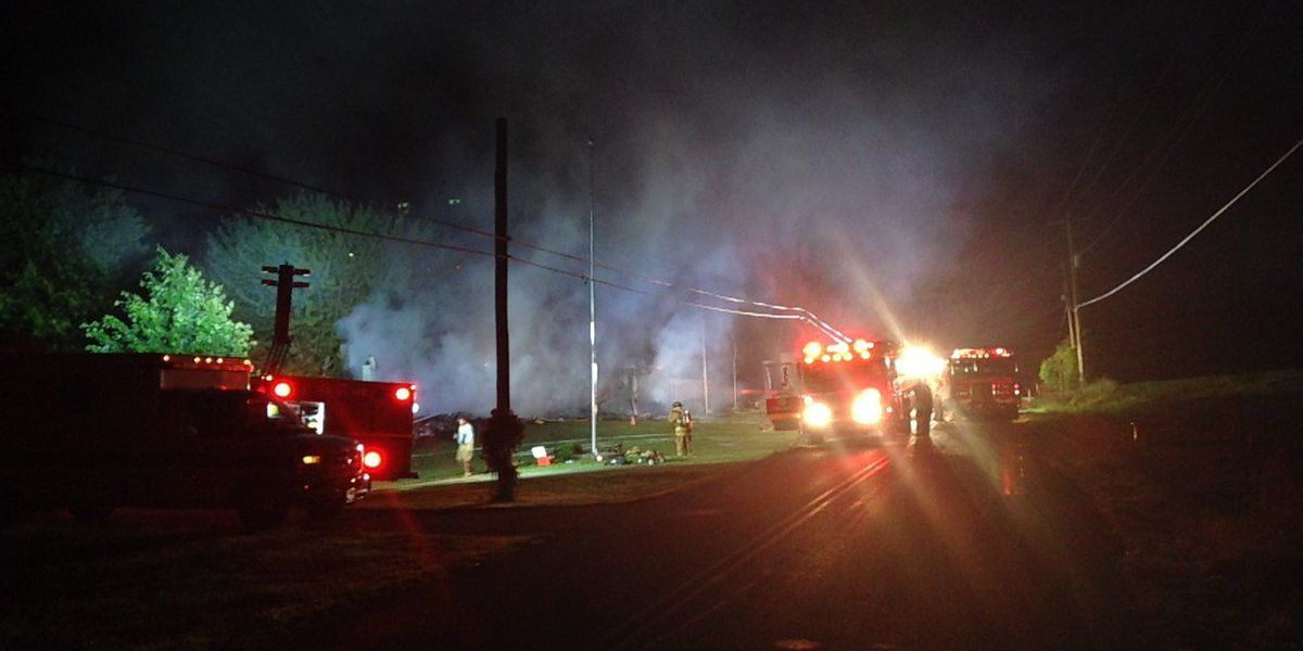 Posey Co. home destroyed in overnight fire