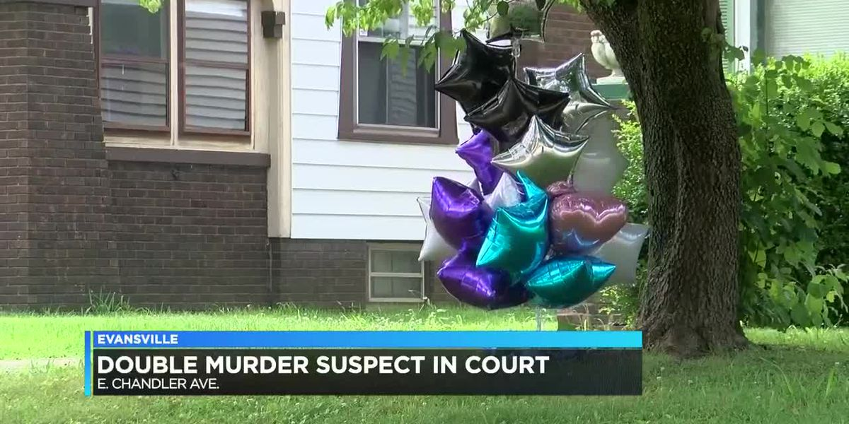 Double murder suspect appeared in court