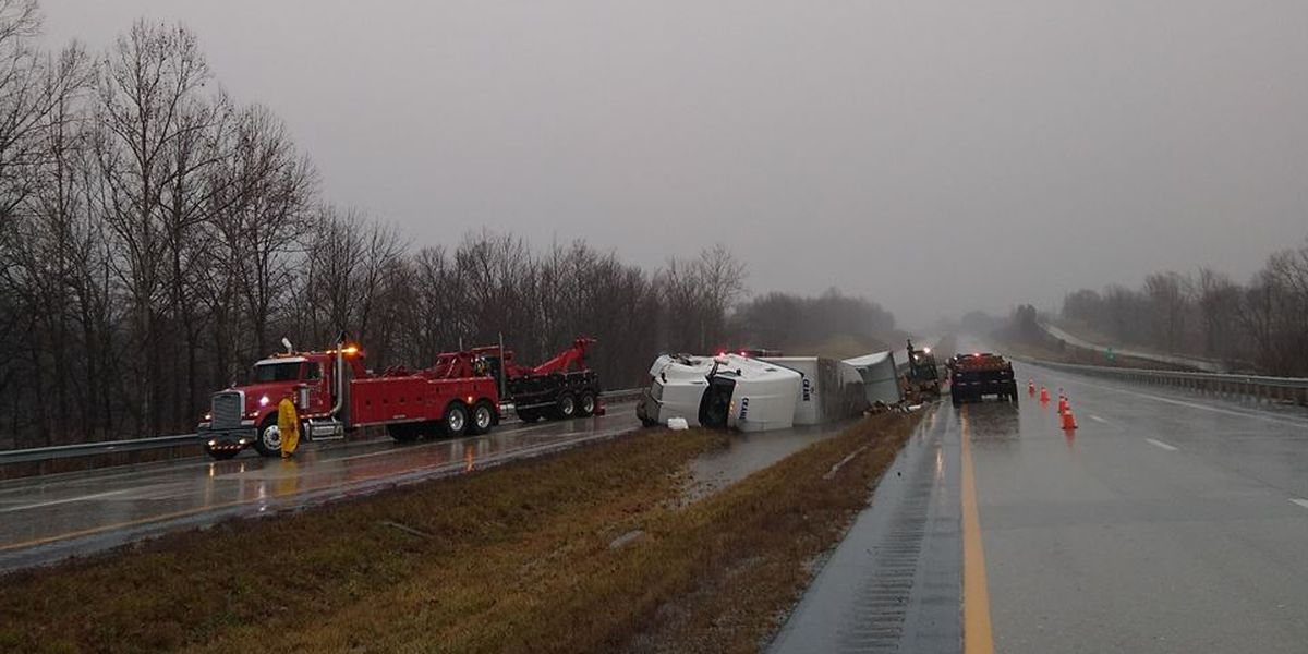 I-165 back open in Ohio Co. after crash