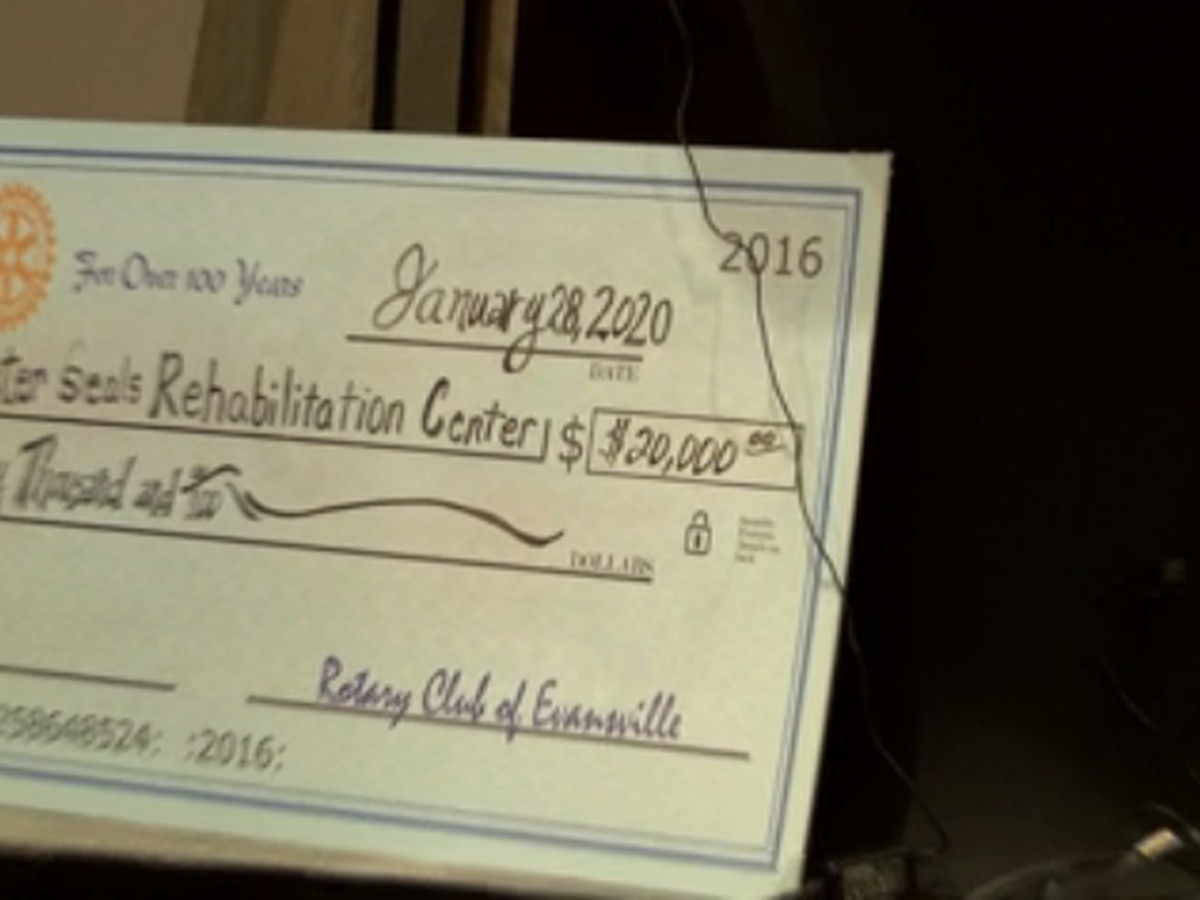 Easter Seals presented with $20k check