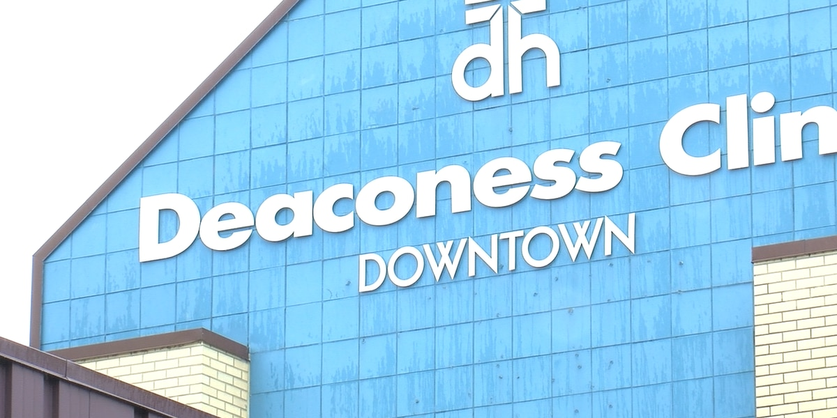 Deaconess Health System reporting a number of closings, delays for Tues.