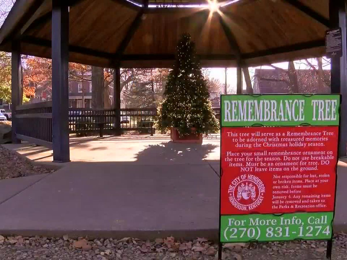 City of Henderson erects remembrance tree to honor lost loved ones