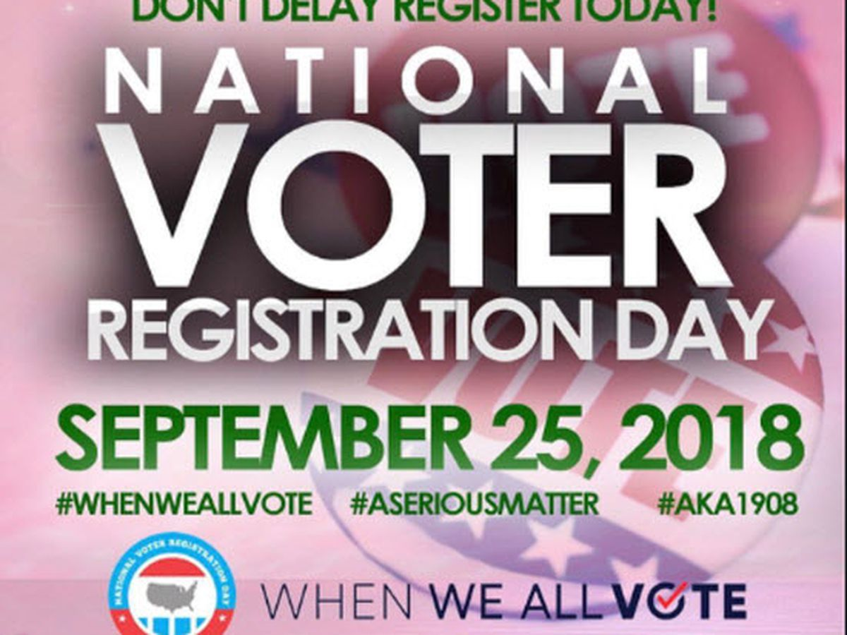 Students help peers on National Voter Registration Day