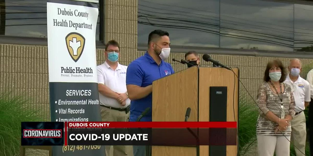 Dubois Co. Health Department provides COVID-19 update