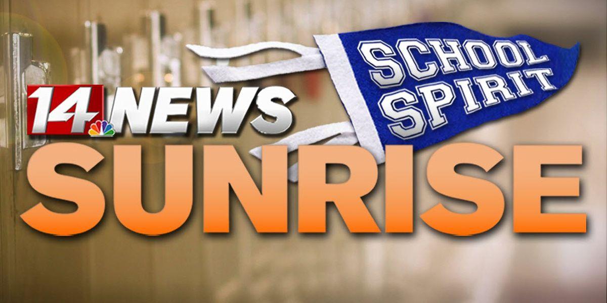 Mt. Vernon Wildcats double last year's number for Sunrise School Spirit