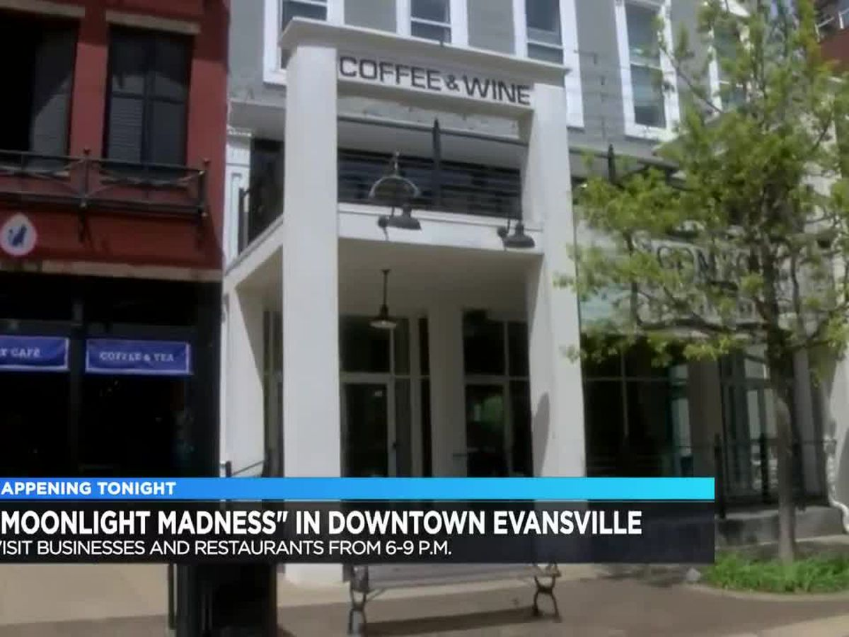 'Moonlight Madness' happening Fri. night in downtown Evansville