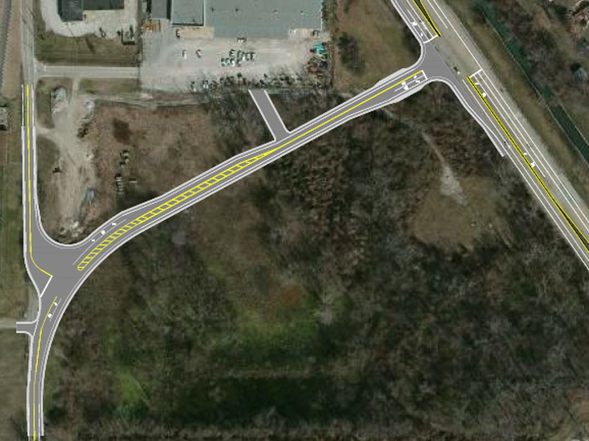 Realignment planned for Waterworks Rd.