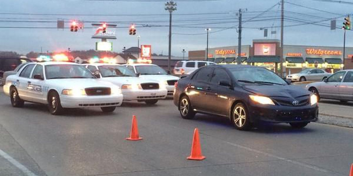 Pedestrian hit by car on Evansville's northeast side