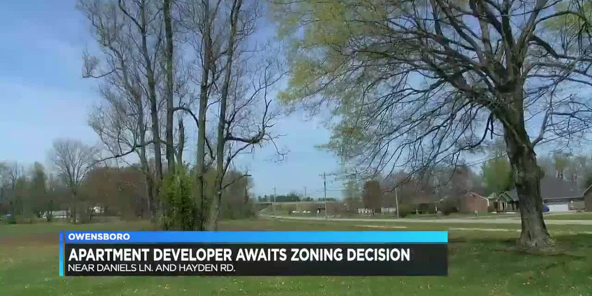 Apartment developer awaits zoning decision in Daviess Co.