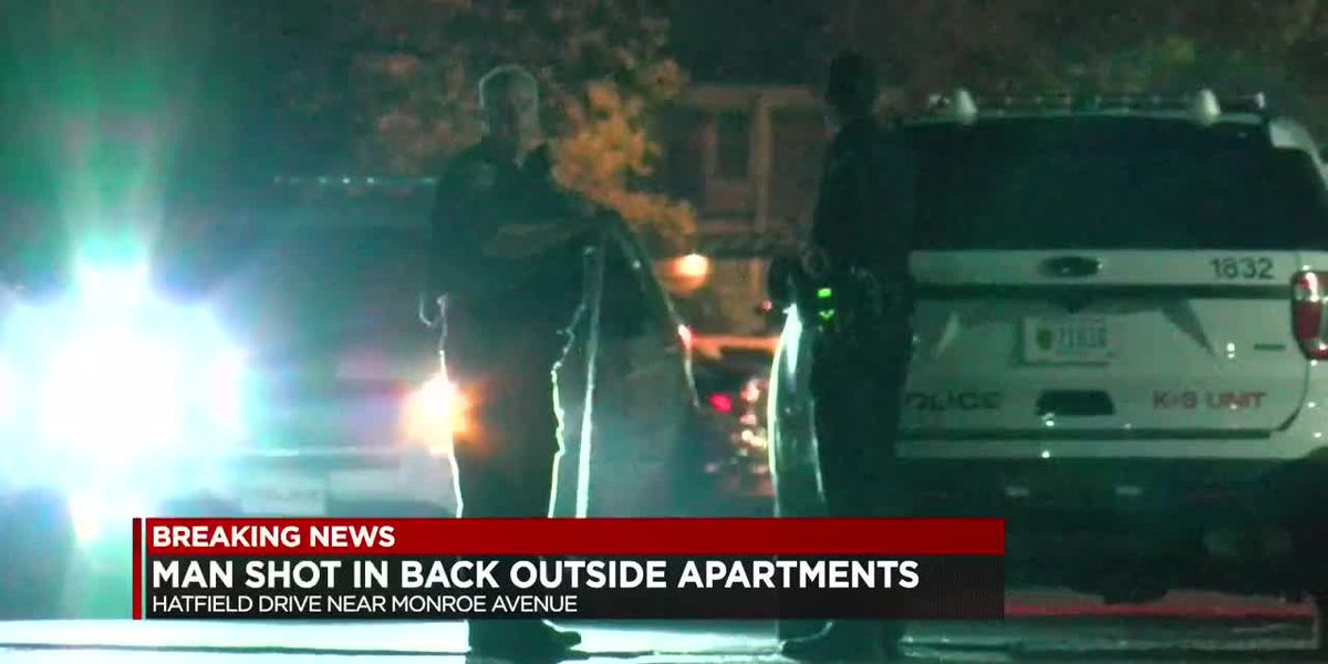 Evansville police investigating after man shot in back outside eastside apartments