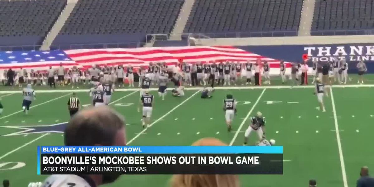 Devin Mockobee shows out in Blue-Grey All-American Bowl