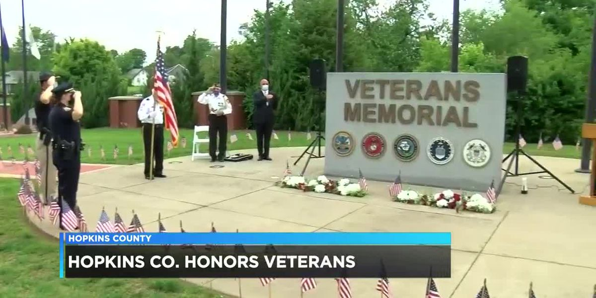 Madisonville, Hopkins Co. officials hold Memorial Day ceremony for fallen soldiers