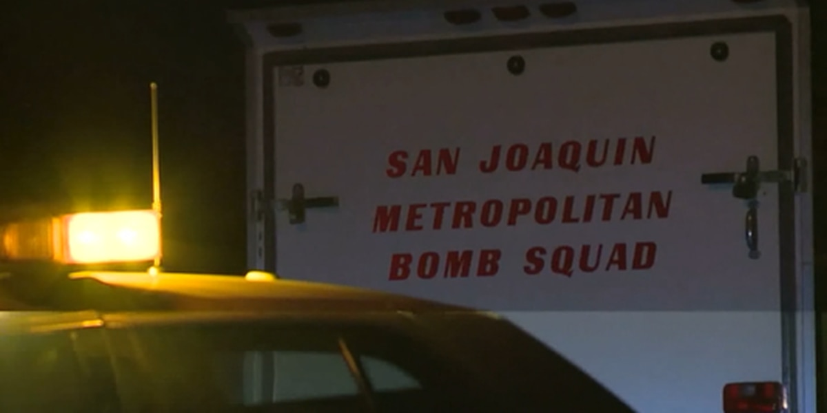 Officers evacuate 20 homes after they find military explosives in California home