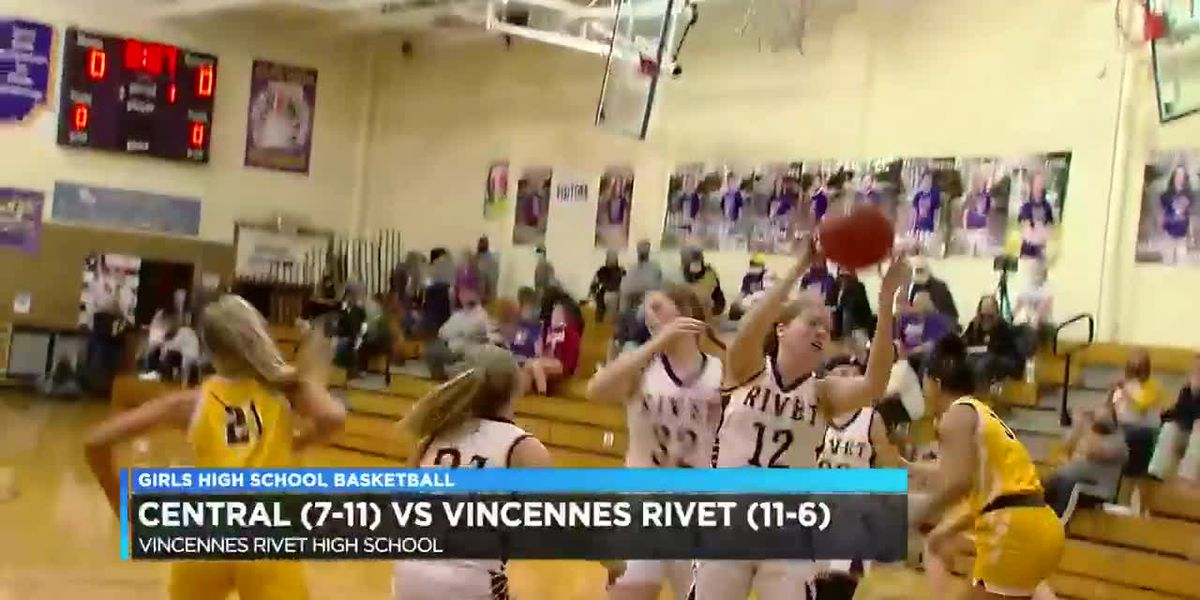 HS Girls Basketball: Central vs Vincennes Rivet