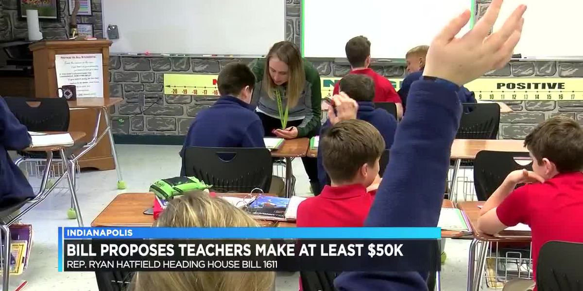 House Bill could raise teachers minimum salary by thousands