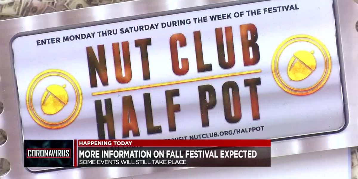 WATCH LIVE: West Side Nut Club to share new information on 2020 Fall Festival