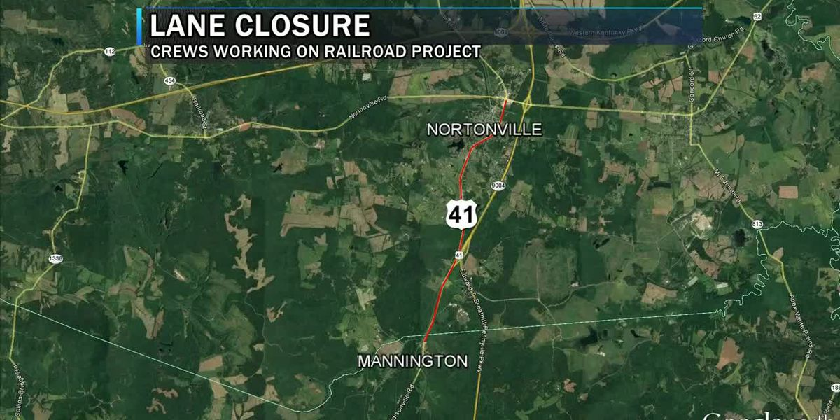 CSX crews to close US 41 down to 1 lane for railroad project