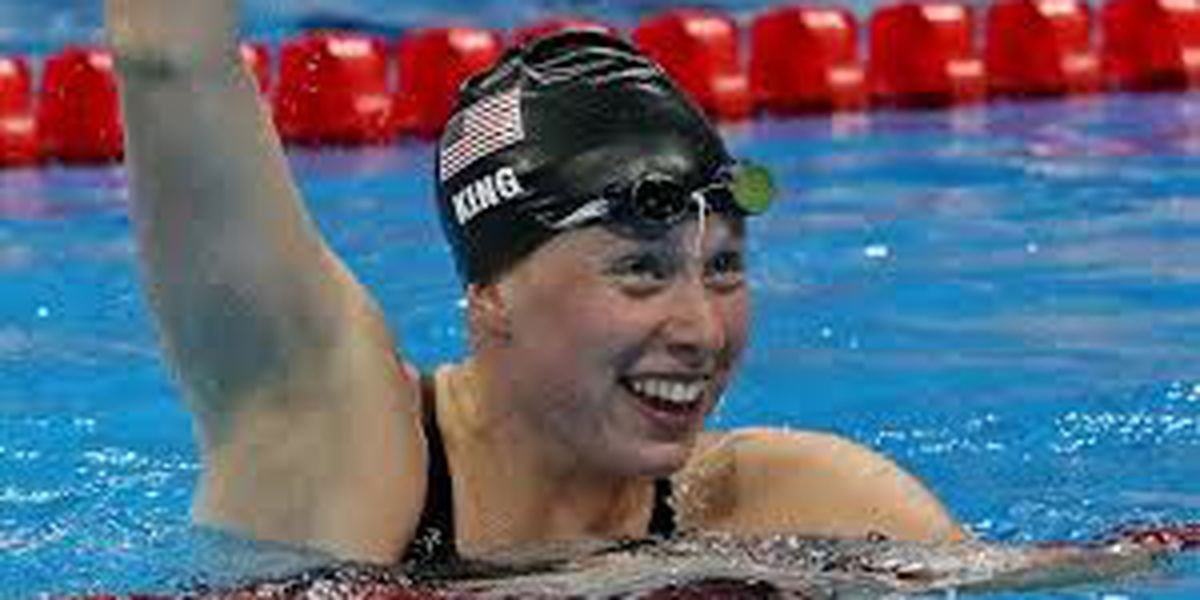 Lilly King wins gold at World Championships in South Korea