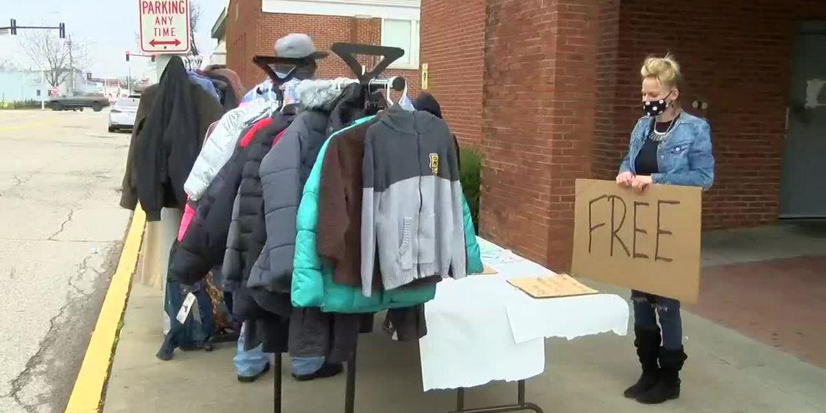 Church organizes coat giveaway in Evansville