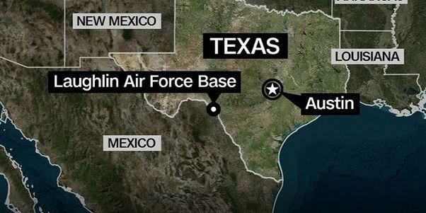 Air Force pilot dies in plane crash at Laughlin AFB, TX
