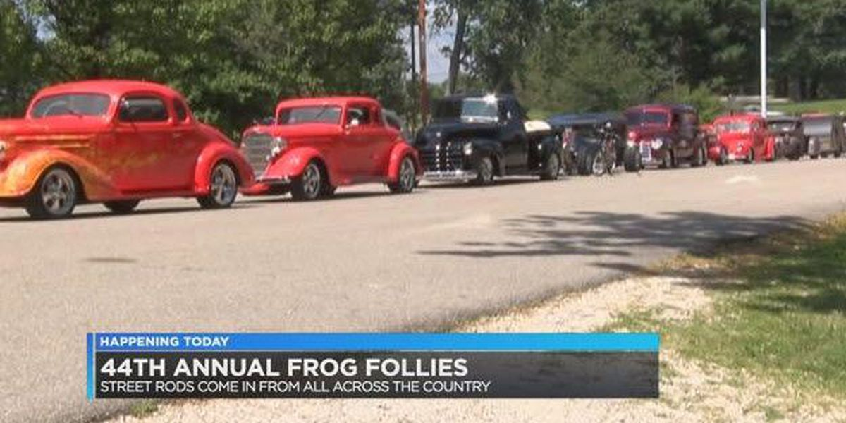 44th annual Frog Follies car show underway