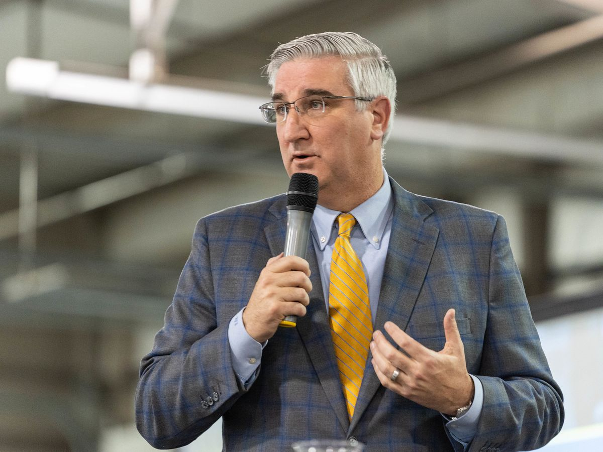Gov. Holcomb to give State of the State address Tues. night