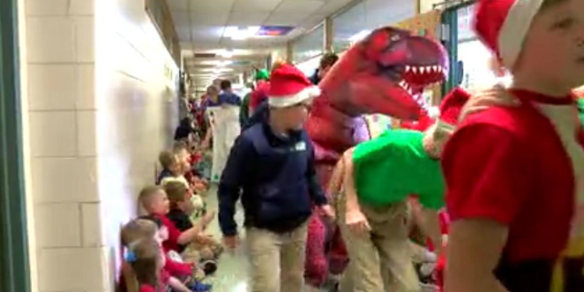 Resurrection School's Christmas parade