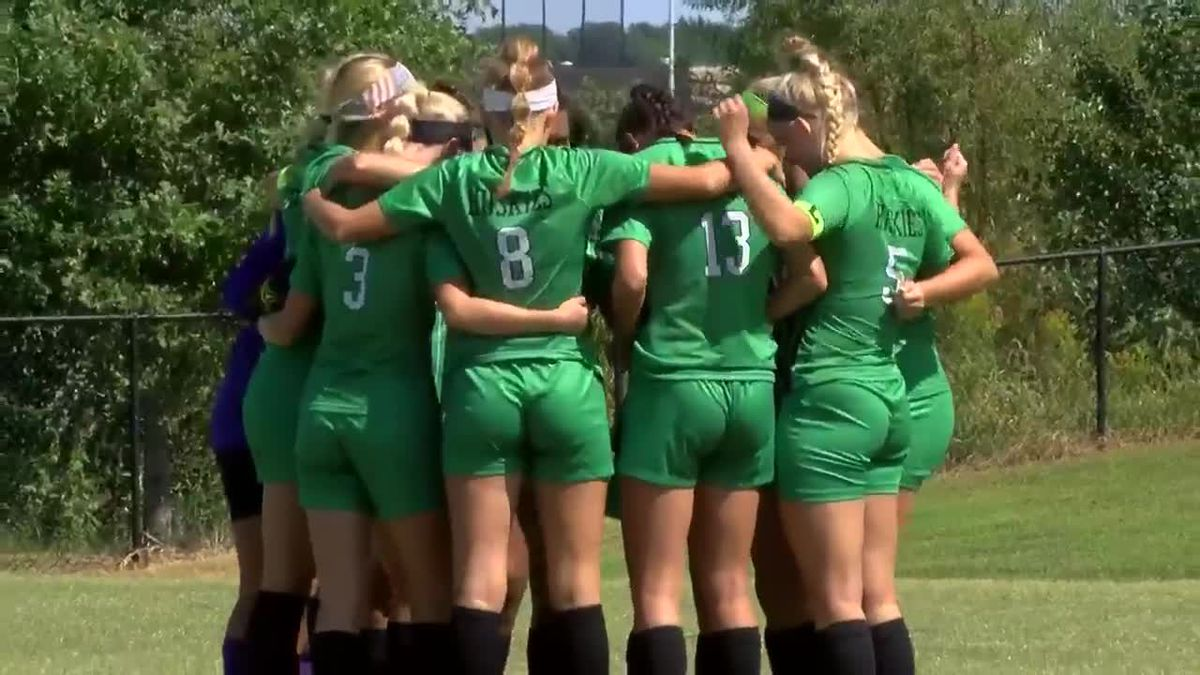HS girls soccer: Floyd Central vs. North highlights