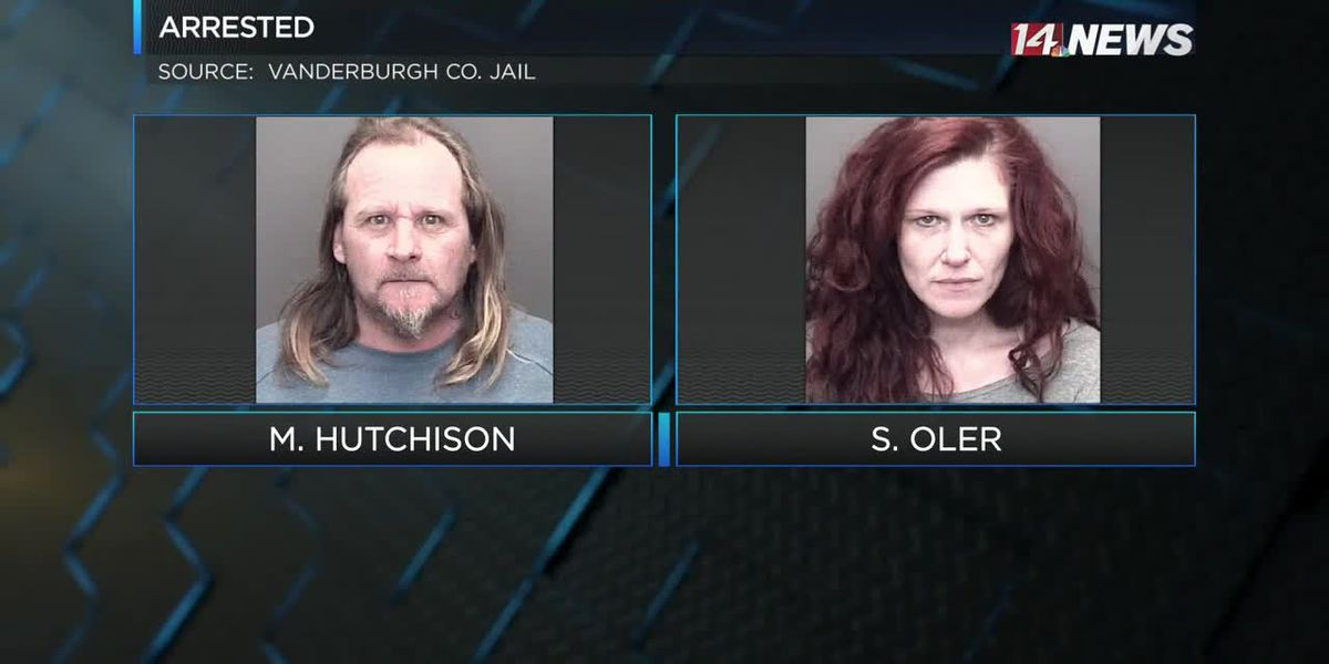 Couple arrested after burglarizing home