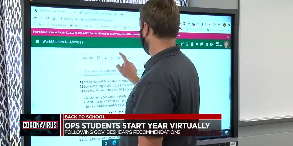 OPS students start virtual learning