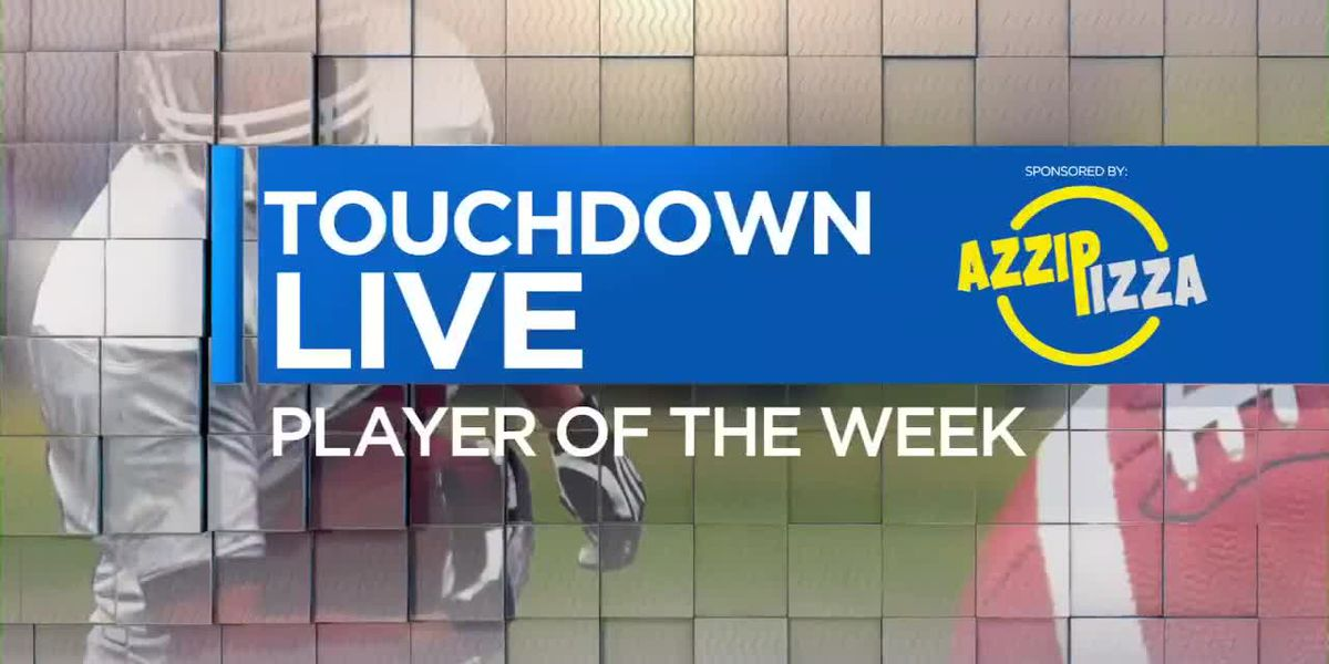 Azzip Pizza Touchdown Live Player of the Week nominees