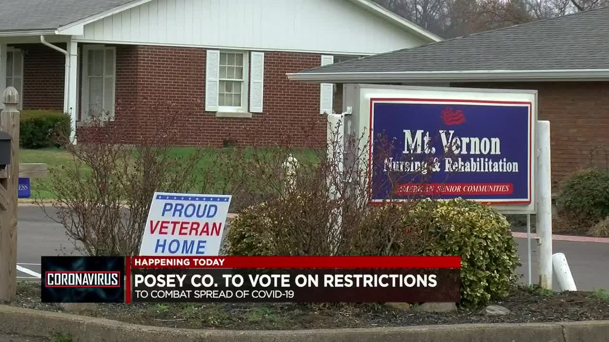 Posey Co. to vote on new restrictions to combat spread of COVID-19