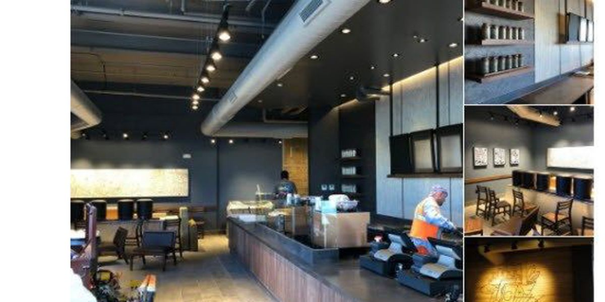 Downtown Starbucks nearing completion